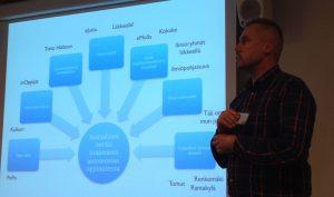 Ville Venäläinen ja Sosiaalinen media yleissivistävässä koulutuksessa (SoMy)-hanke