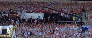 Tallinnan laulujuhlat vuonna 2014.