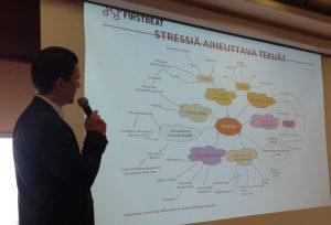 Jori Palenius ja stressiä aiheuttavat tekijät
