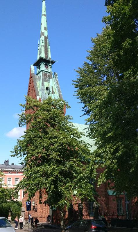 Saksalainen kirkko Helsingissä
